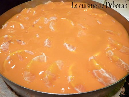 Entremets coco, mangue et mandarine  Cuisine de Deborah