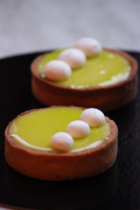 Tartelettes au citron vert - Cuisine de Déborah