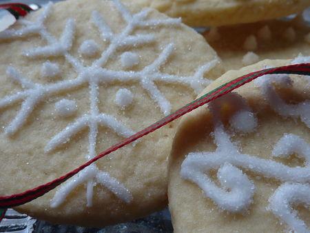 Biscuits de Noël givrés - Cuisine de Deborah