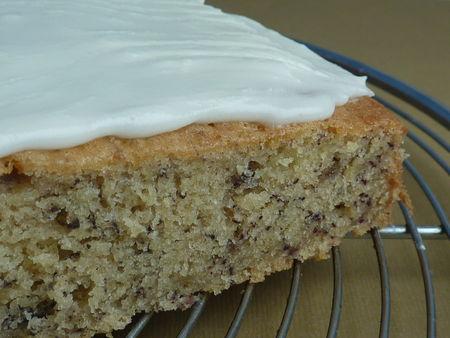 Gâteau aux bananes glacé au citron - cuisine de Deborah
