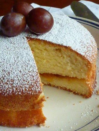 Gâteau Lorrain aux mirabelles - Cuisine de deborah