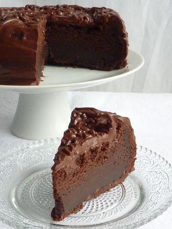 Le gâteau de la fille qui avait envie de chocolat Cuisine de Deborah