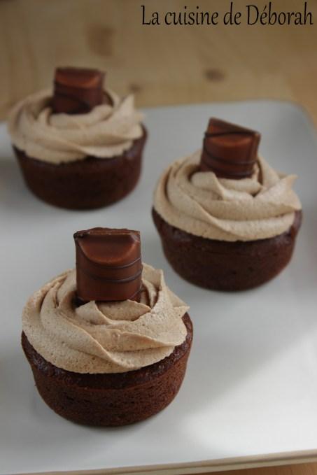 Cupcakes au Kinder Bueno La cuisine de Déborah