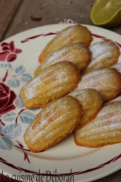 Madeleines sans gluten Cuisine de Deborah