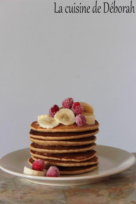 Pancakes moelleux, sans gluten ni produits laitiers cuisine de deborah