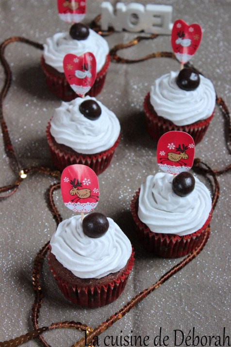 Cupcakes de Noël cuisine de deborah