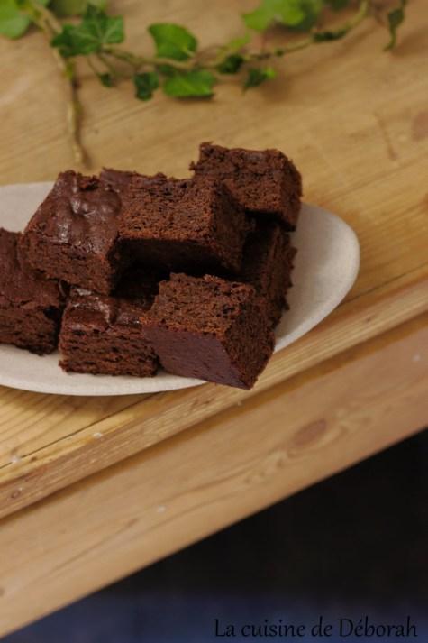 Brownie sans gluten vegan et ig bas     la cuisine de deborah