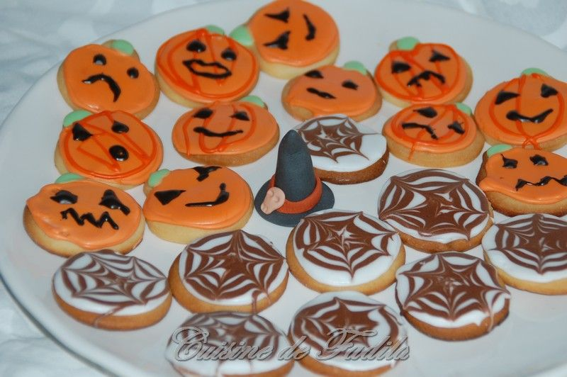 Biscuits d'Halloween ( Sugar Cookies)