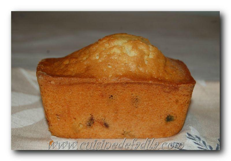 Cake aux baies de goji et fruits confits
