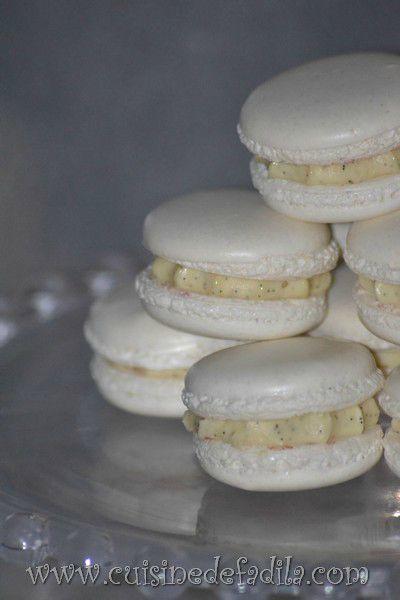Macarons infiniment vanille