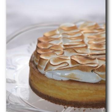 Cheesecake façon tarte au citron meringuée