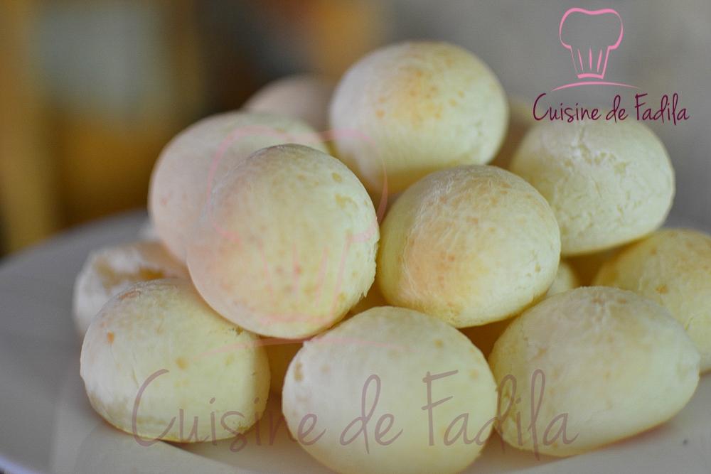 Pão de queijo : Petit pain Brésilien au fromage