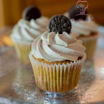 Cupcake Oreo et ganache montée Oreo: recette en vidéo