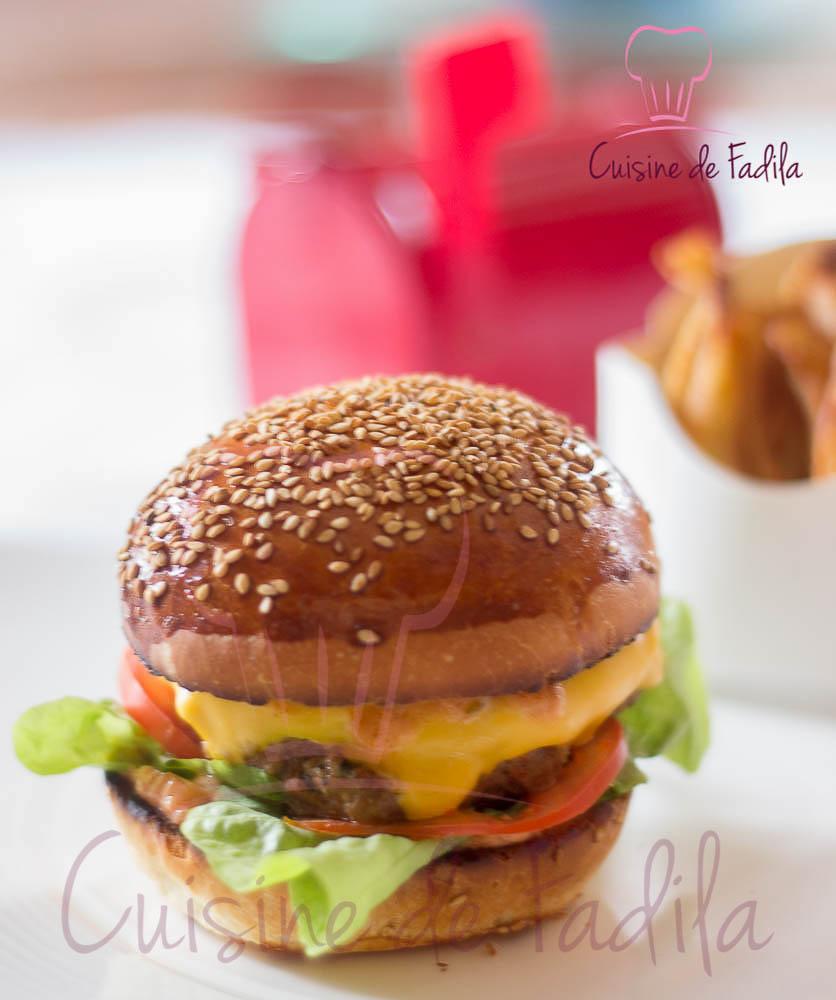 Burger maison: recette en vidéo