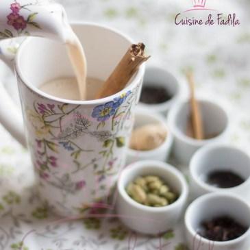 Masala chai : thé aux épices
