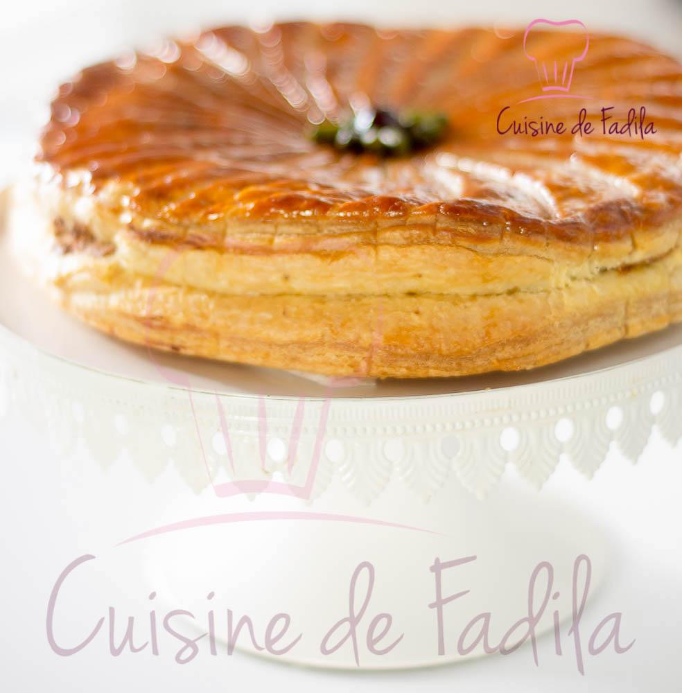 Galette des rois pistache griotte amarena : recette en vidéo