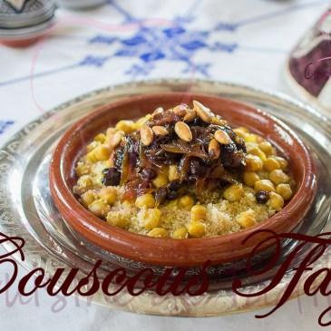 Couscous Tfaya: recette en vidéo