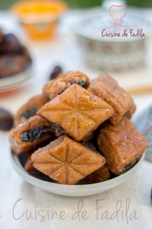 Makrout aux dattes et au miel