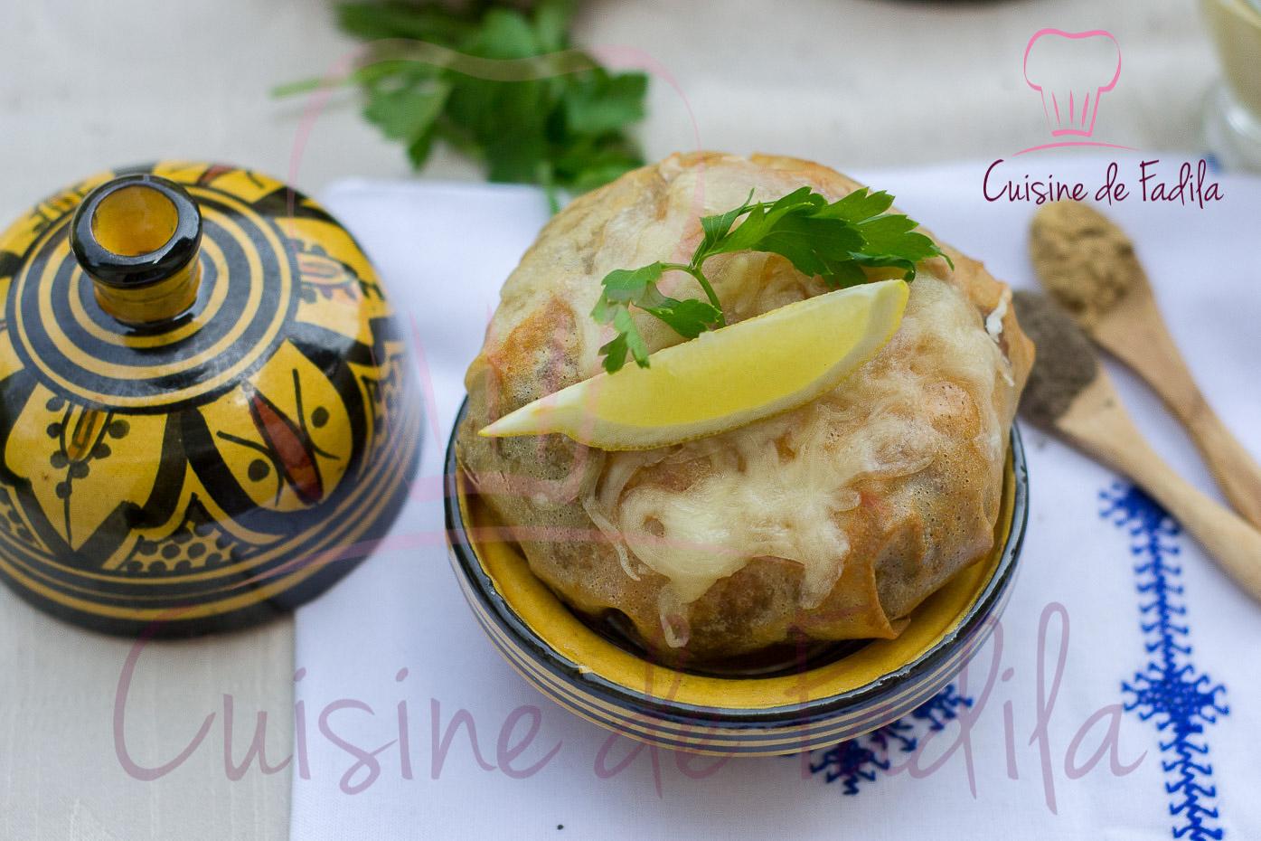 Pastilla au poulet et à la moutarde: recette en vidéo