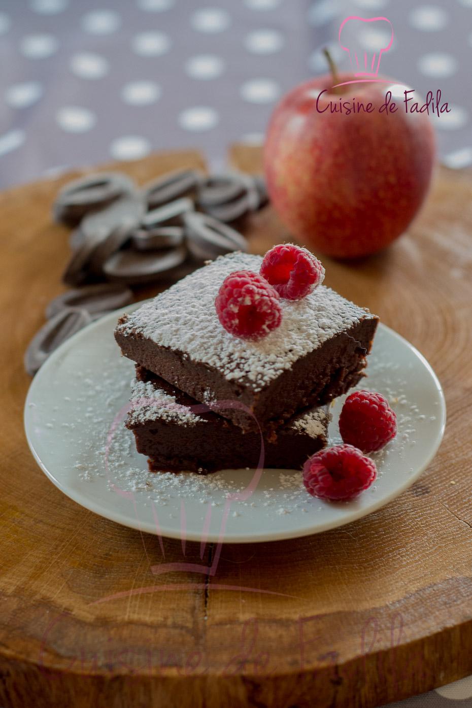 Fondant au chocolat sans beurre - cuisine de Fadila