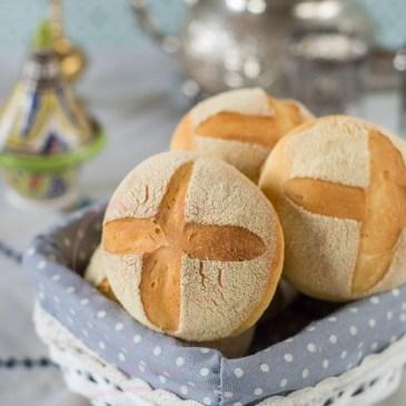 Pain Marocain à la semoule et à l'huile d'olive
