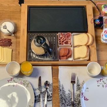 Brunch à partager et recette de pancakes facile
