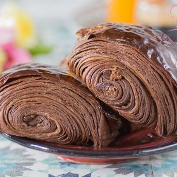Pains au chocolat au cacao