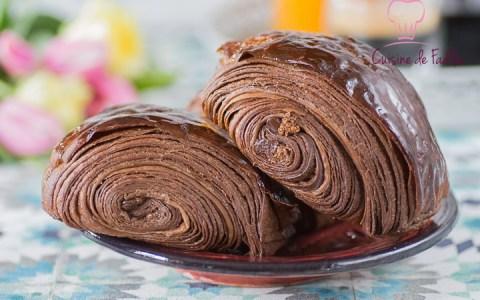 pain au chocolat au cacao
