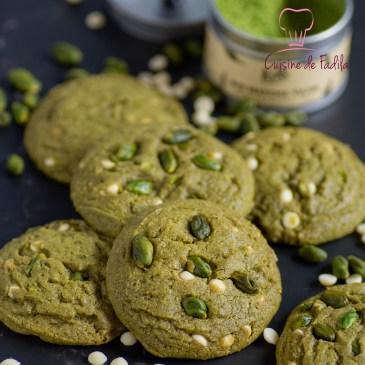 Cookies thé matcha pistache