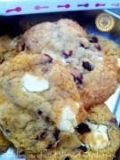 Cookies chocolat blanc haut