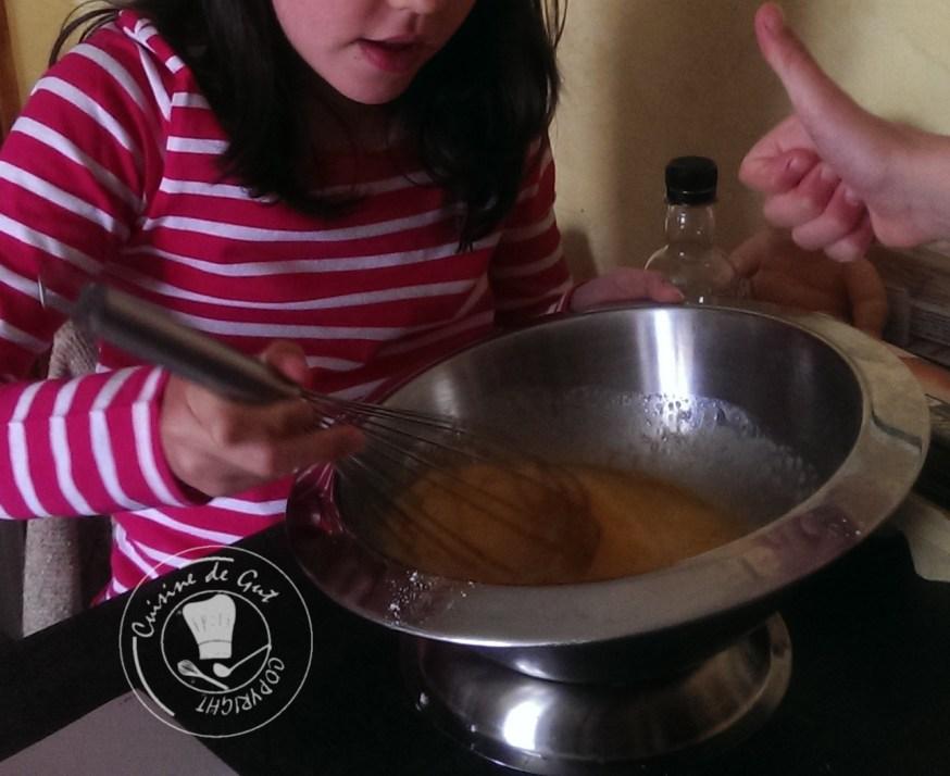 Cassandra : Mélange avec l'ajout de la farine