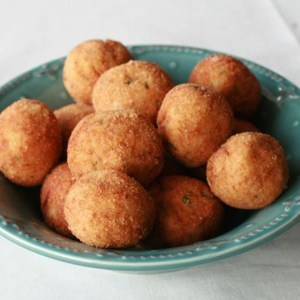Tuna and cheese balls