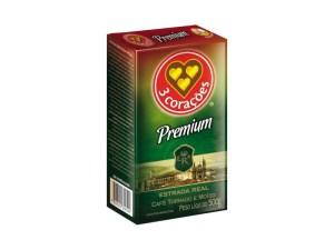 Café Premium - 3 Coracões