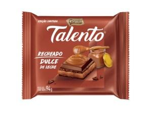 Talento - Recheado - Doce de Leite