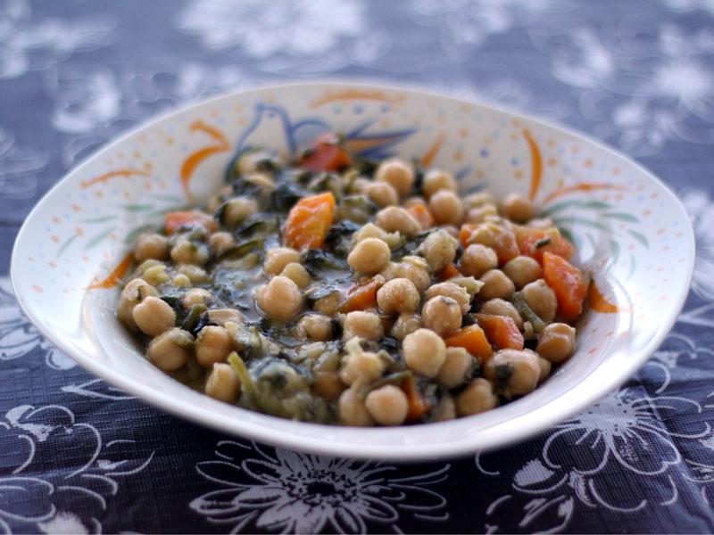 Recette : Soupe de pois chiches (revithia soupa)
