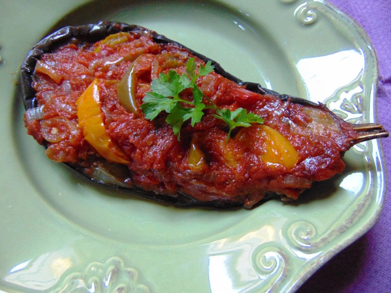 IMAM BAYILDI : recette aubergine