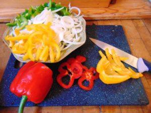 recette aubergine imam bayildi preparation poivron