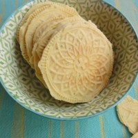 Recipe: Lime Zest Bricelets