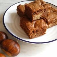 Recipe: Brownies with Purée de Marrons