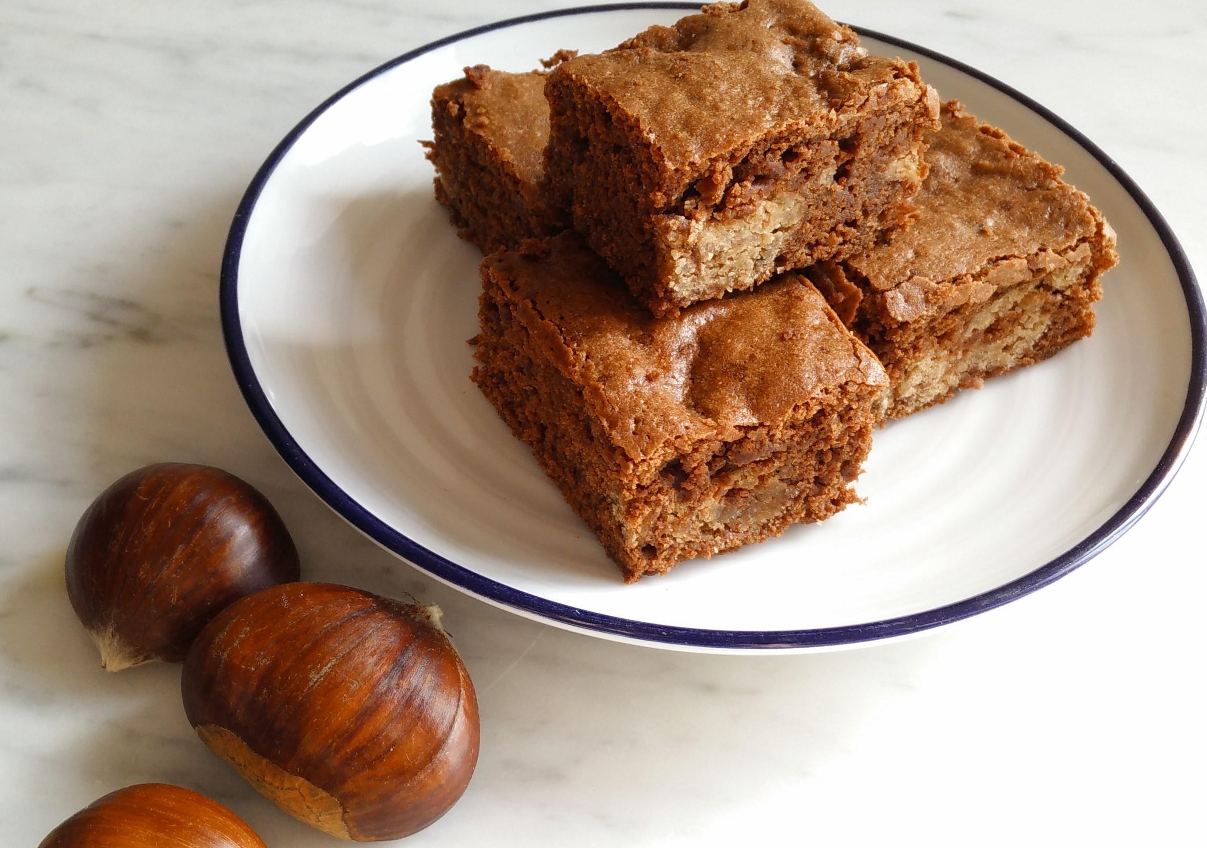 Sweet Chestnut Brownies Recipe