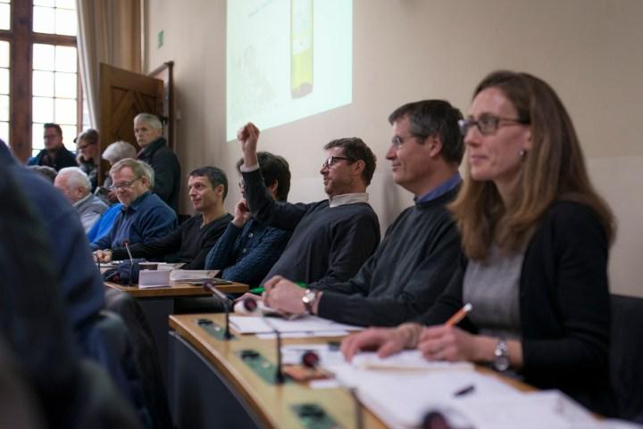 Mises des vins | Hôtel de Ville – Salle du Conseil communal, Lausanne. Samedi 10 décembre 2016.