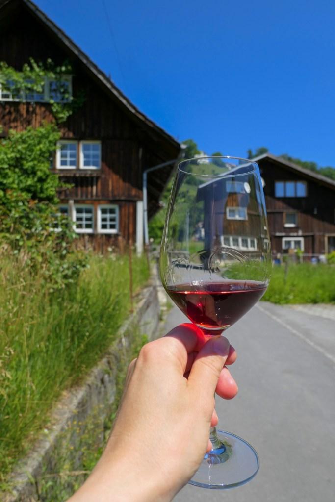 St. Gallen wine