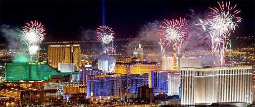 Image result for los vegas postcard fireworks