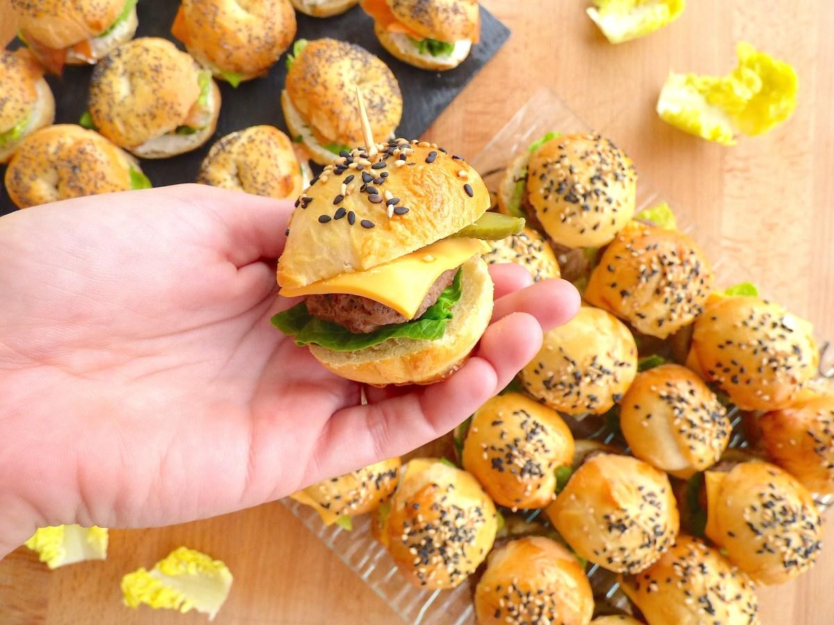 Mini-Burgers Tout Maison