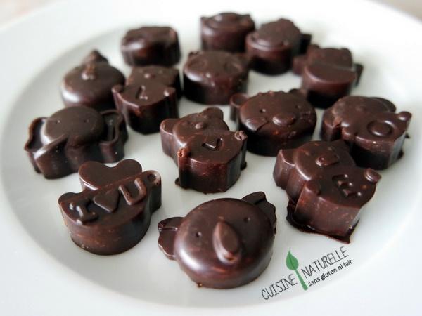 Chocolats de Pâques vegan & sans gluten