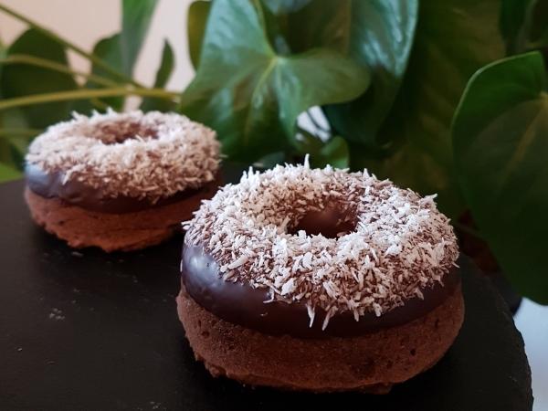 Donuts chocolat & épices - Vegan & sans gluten