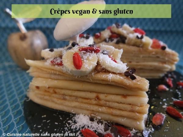 crepe vegan et sans gluten