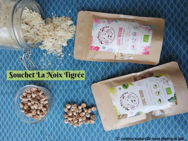 Sachets de souchet: graines et flocons