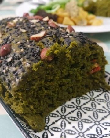 Cake aux blettes vegan et sans gluten