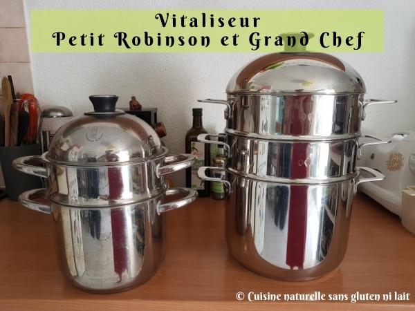 Vitaliseur Petit Robinson et Grand Chef